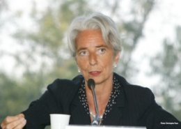 Lagarde, IMF MD, concludes her visit to Kampala