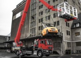 Palfinger expands the functions of its Jumbo clas NX access platforms