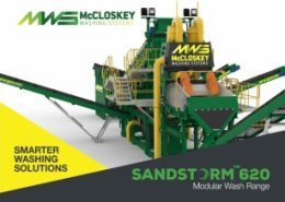 McCloskey Washing Systems to unveil Sandstorm 620 at CONEXPO