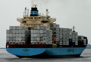 Container ship Olga Maersk