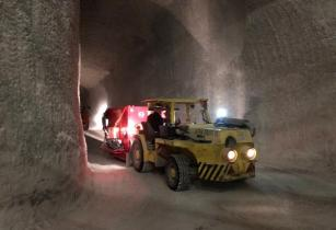 First underground TOMRA sensor-based sorter starts operation at K+S rock salt mine