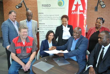 AfriSam and Royal Bafokeng Group to create enterprise opportunities