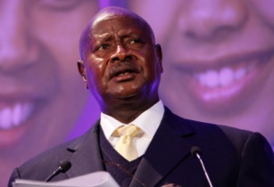 President Yoweri Museveni of Uganda speaking at the London Summit on Family Planning 7550487892