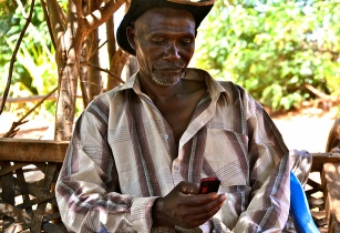 Smartphone technology revolutionising African farming