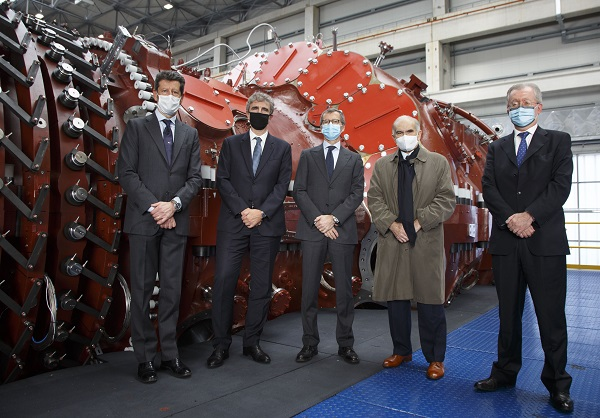 Ansaldo Energia presents the new GT36 gas turbine
