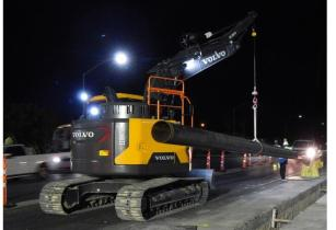 VOLVO CE introduces rotating pipelayer conversion kits for 14-tonne excavators