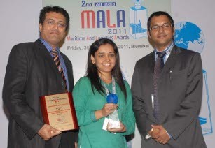 Safmarine, wins, best shipping line award, in, India-Africa trade, african, shipper, MALA, CEVA