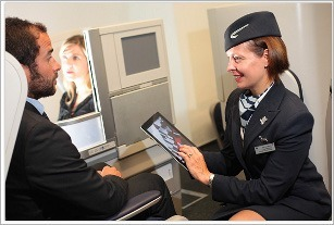 Ipad, BA, British Airways, customer service, africa, ipad 2, cabin crew