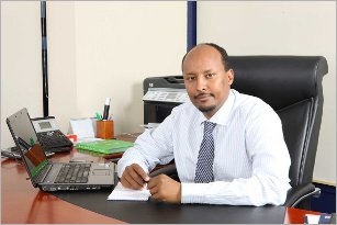 Abdirashid Duale, an award-winning Somali entrepreneur and CEO of Dahabshiil, an African money transfer business