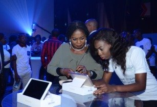 Ecobank mobile app demos at the Nigerian launch